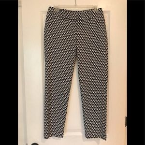 White House Black Market crop pants size 2